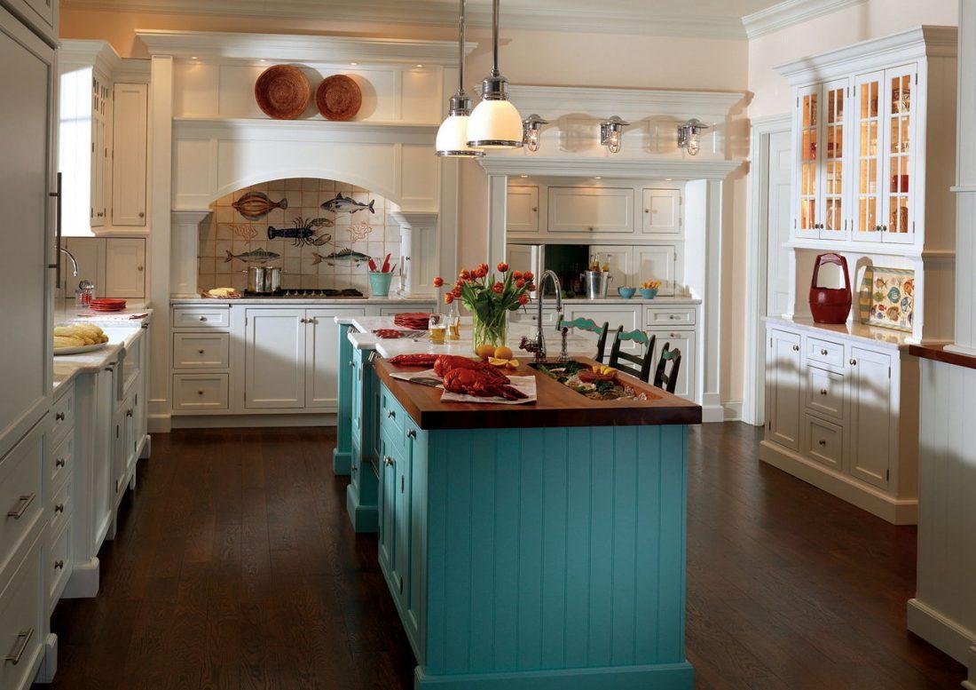 Кухня в стиле прованс 8