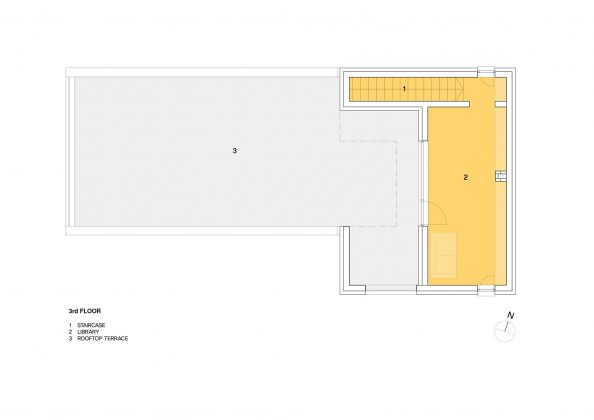 Квадратный красный дом в Южной Корее по проекту ArchiWorkshop 17