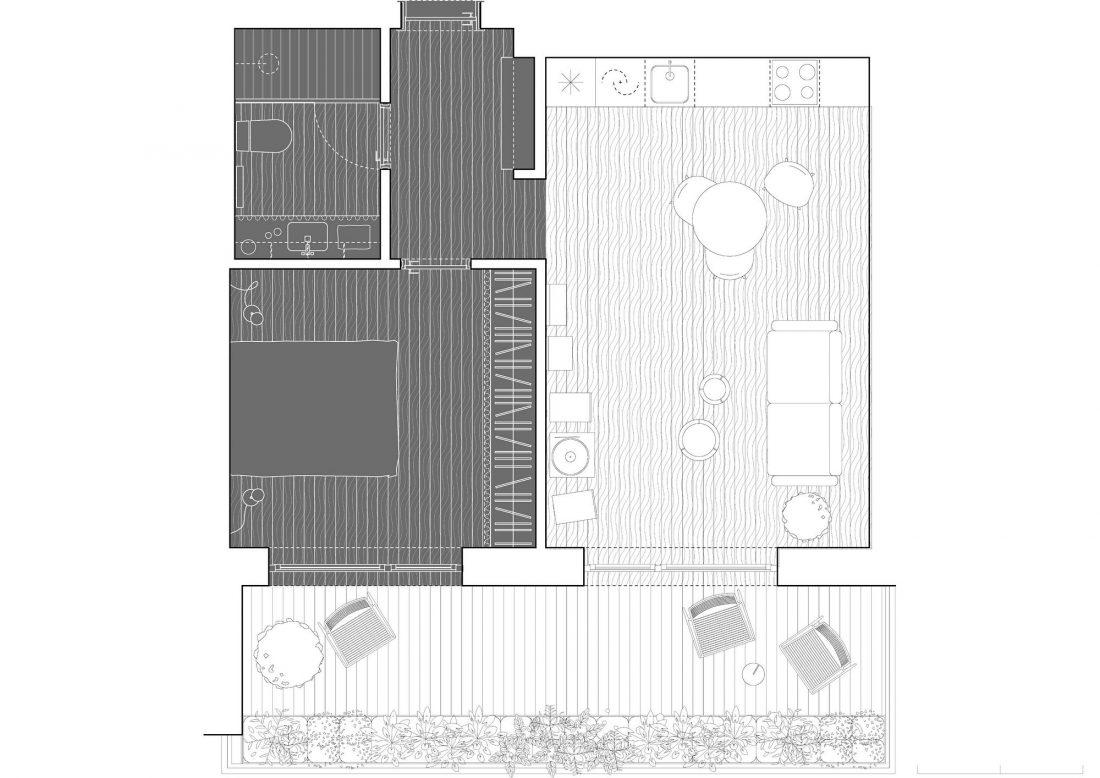 Квартира в Вильнюсе по проекту студии YCL 10