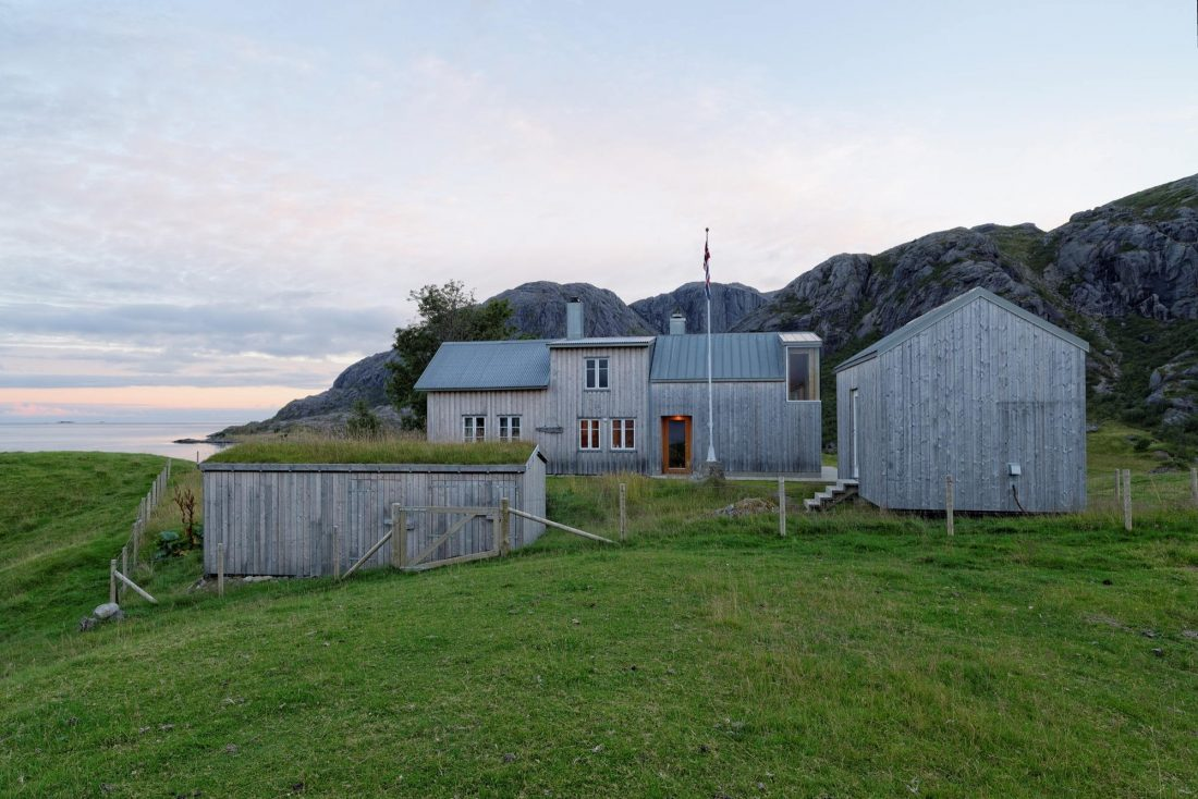 Летний домик в Норвегии по проекту студии Carl-Viggo Holmebakk 6