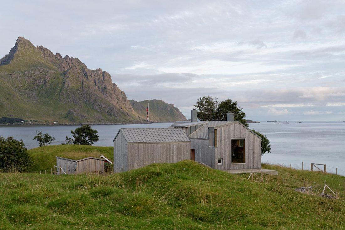 Летний домик в Норвегии по проекту студии Carl-Viggo Holmebakk 8