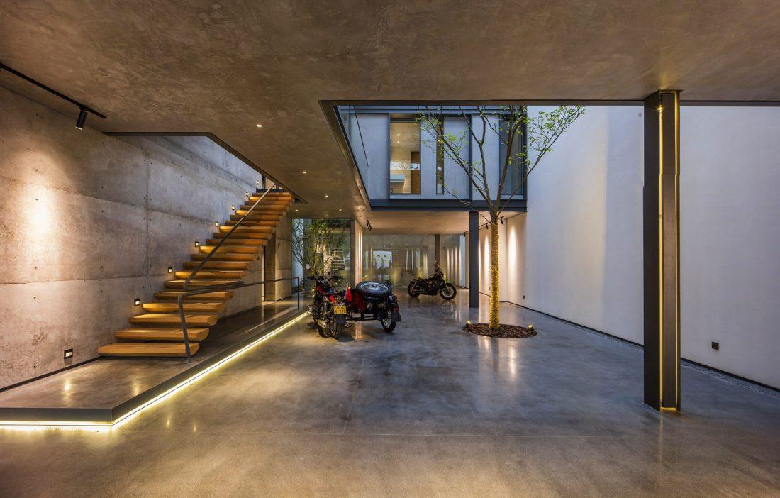 MISA Studio масштабный проект дома в Китае от студии Wanjing Design 15