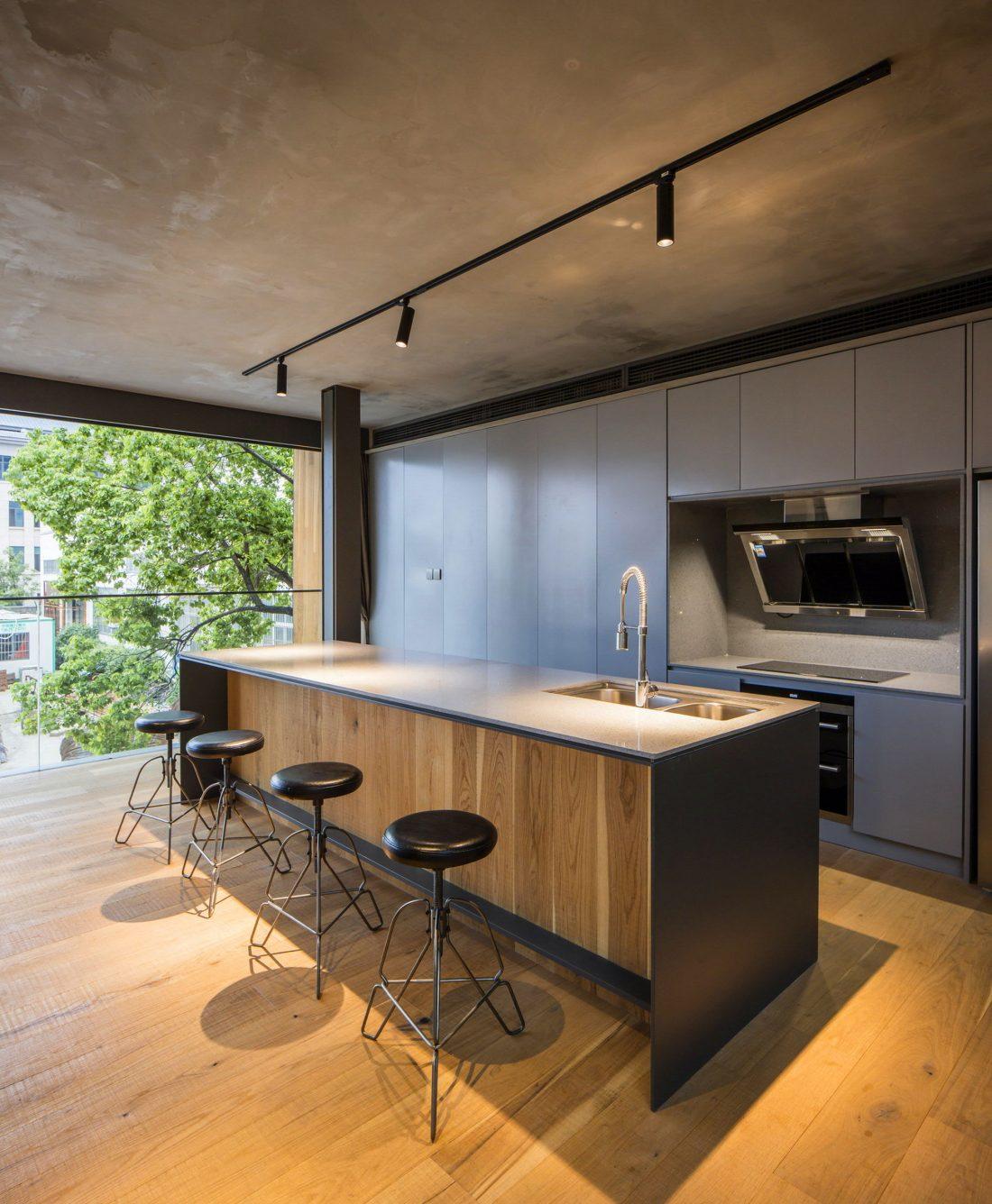 MISA Studio масштабный проект дома в Китае от студии Wanjing Design 17