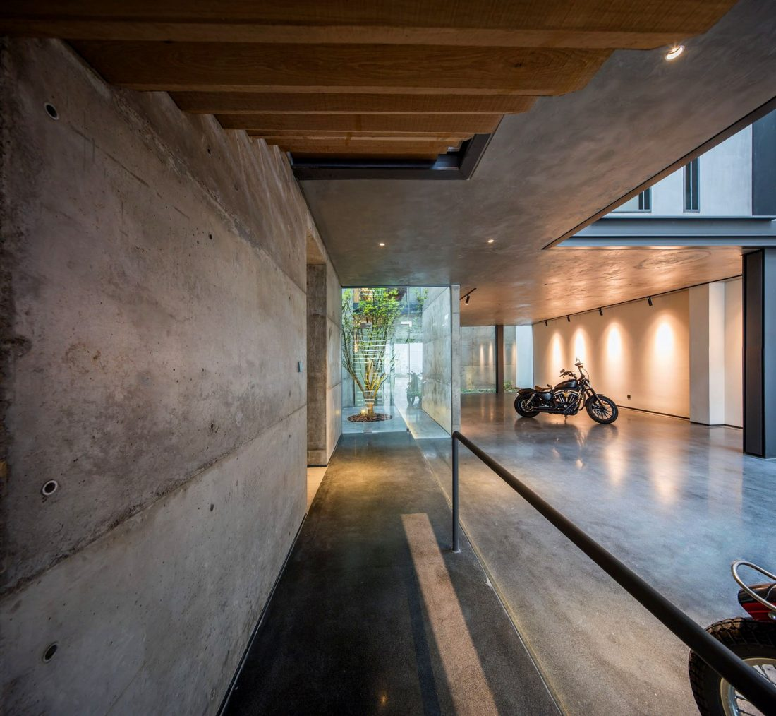 MISA Studio масштабный проект дома в Китае от студии Wanjing Design 25