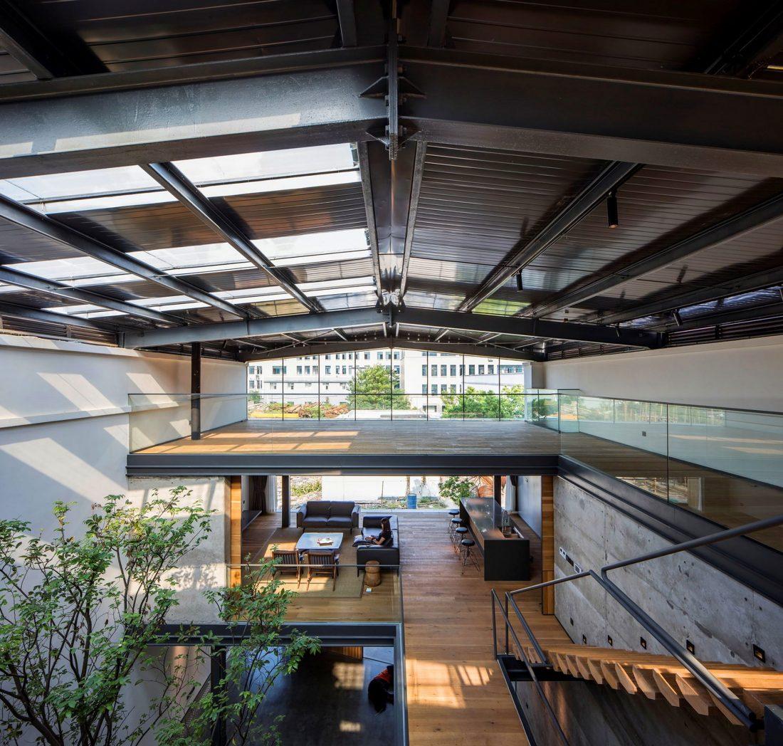 MISA Studio масштабный проект дома в Китае от студии Wanjing Design 31