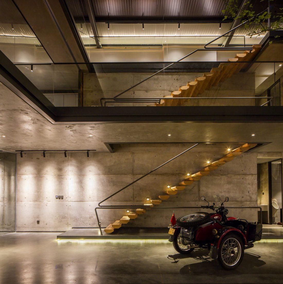 MISA Studio масштабный проект дома в Китае от студии Wanjing Design 33