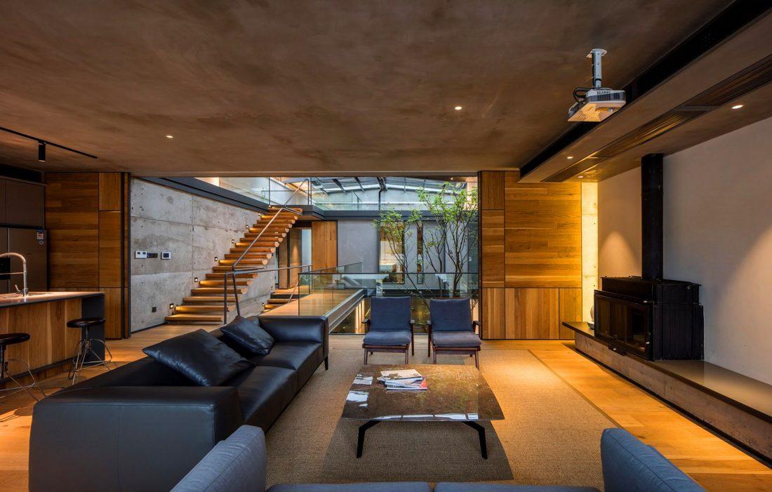 MISA Studio масштабный проект дома в Китае от студии Wanjing Design 34