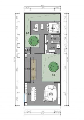 MISA Studio масштабный проект дома в Китае от студии Wanjing Design 36