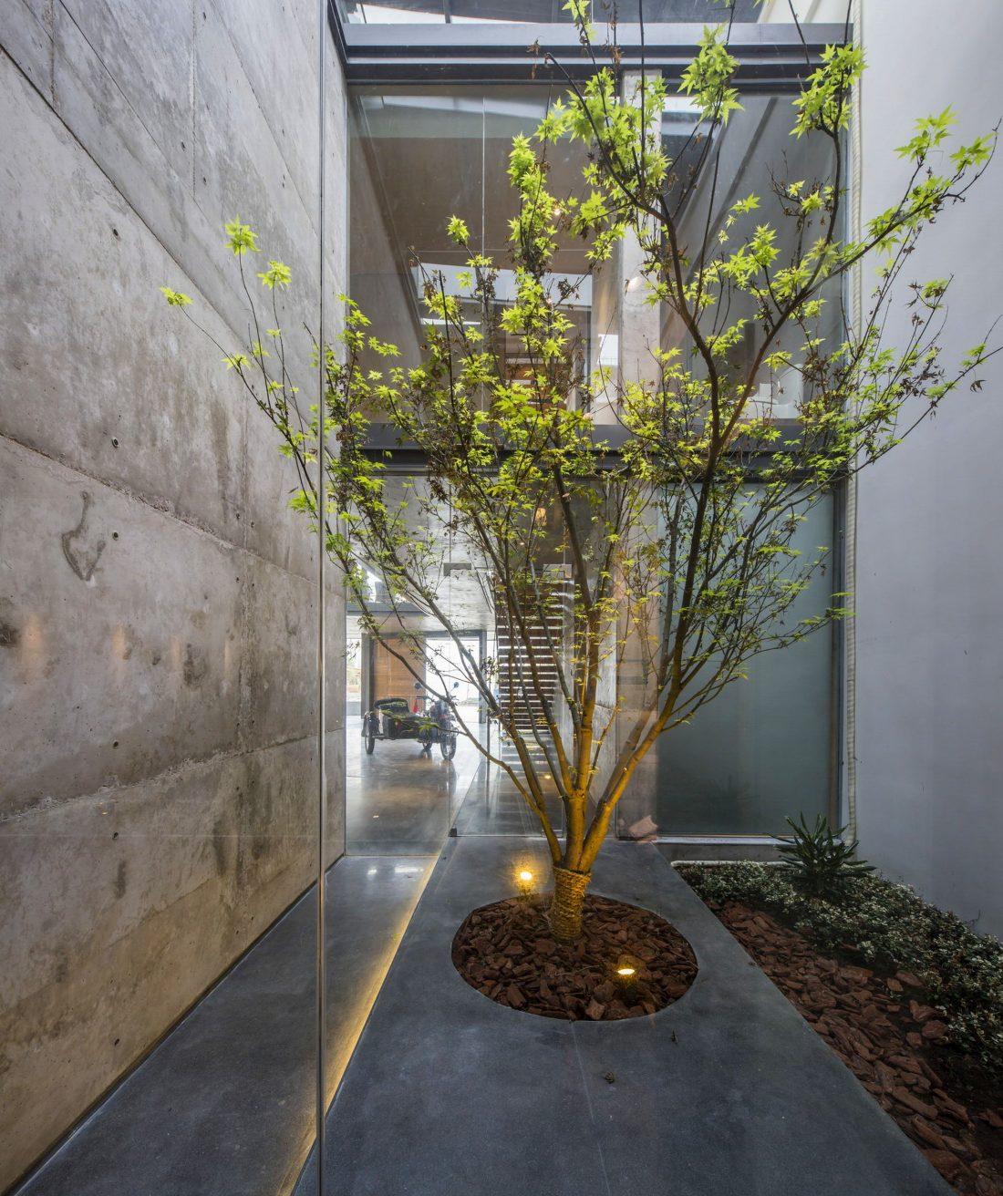 MISA Studio масштабный проект дома в Китае от студии Wanjing Design 4