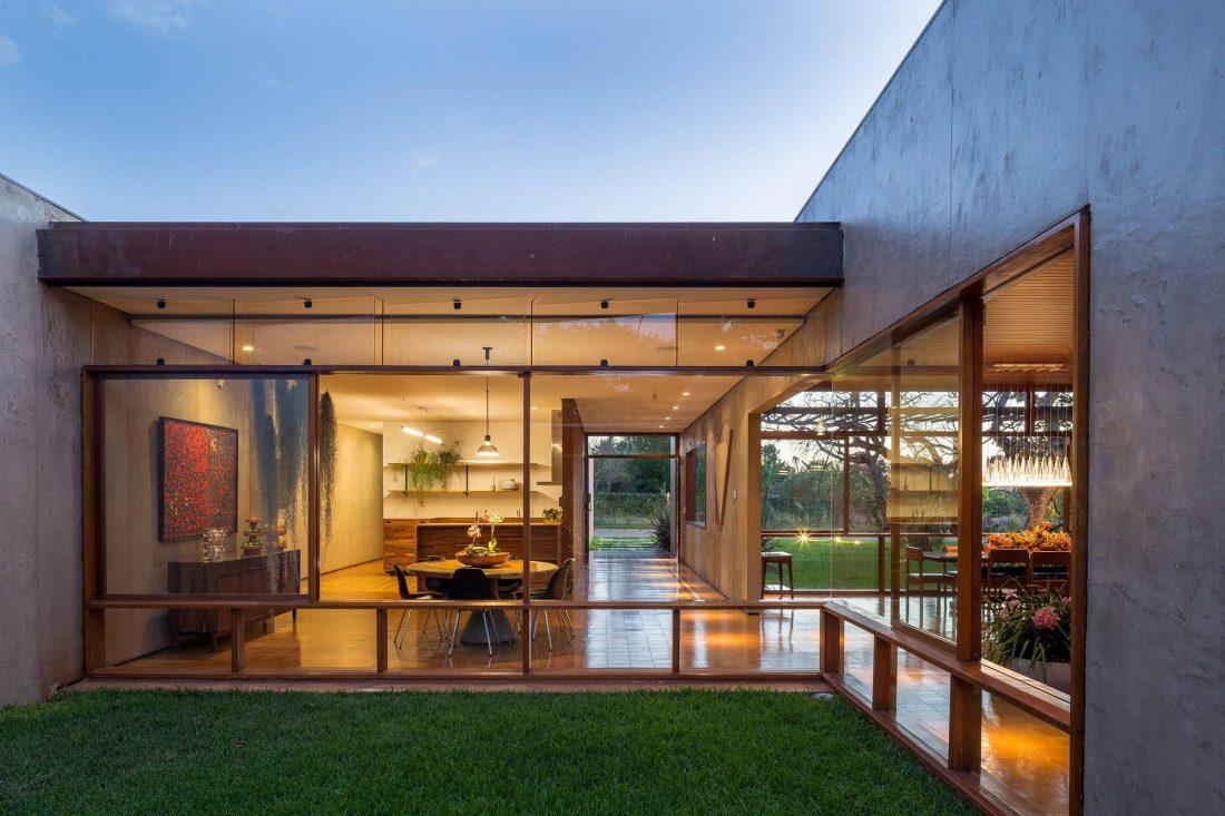Проект Дом 28 в Бразилии от студии Equipe Lamas 13