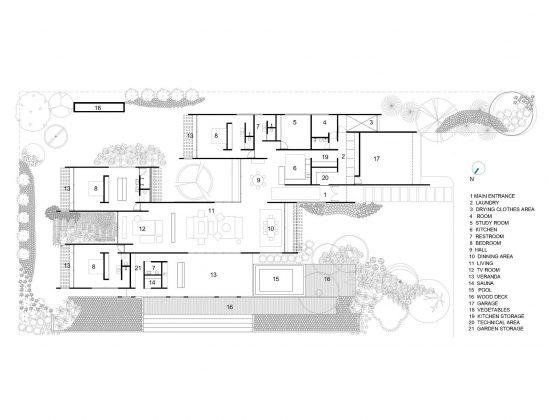 Проект Дом 28 в Бразилии от студии Equipe Lamas 24