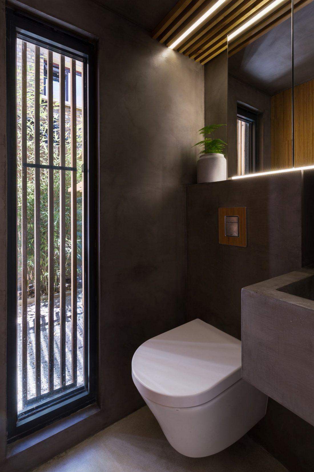 Проект Затонувшая ванная от студии Studio 304 Architecture 10