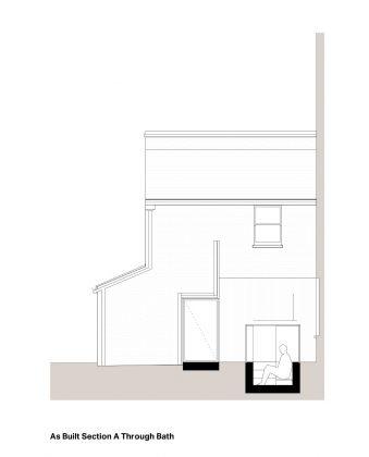 Проект Затонувшая ванная от студии Studio 304 Architecture 11