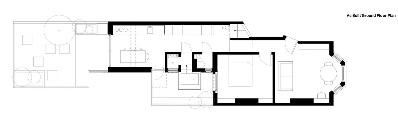 Проект Затонувшая ванная от студии Studio 304 Architecture 14
