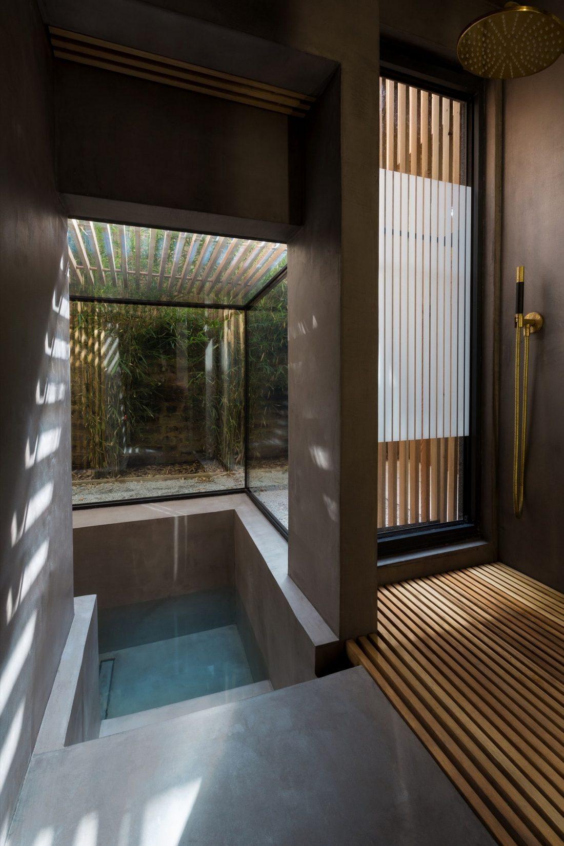 Проект Затонувшая ванная от студии Studio 304 Architecture 5