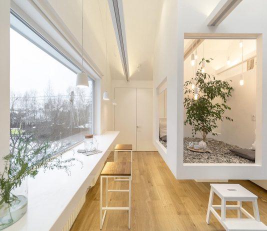 Проект мансардной квартиры от студии Ruetemple в Москве 1