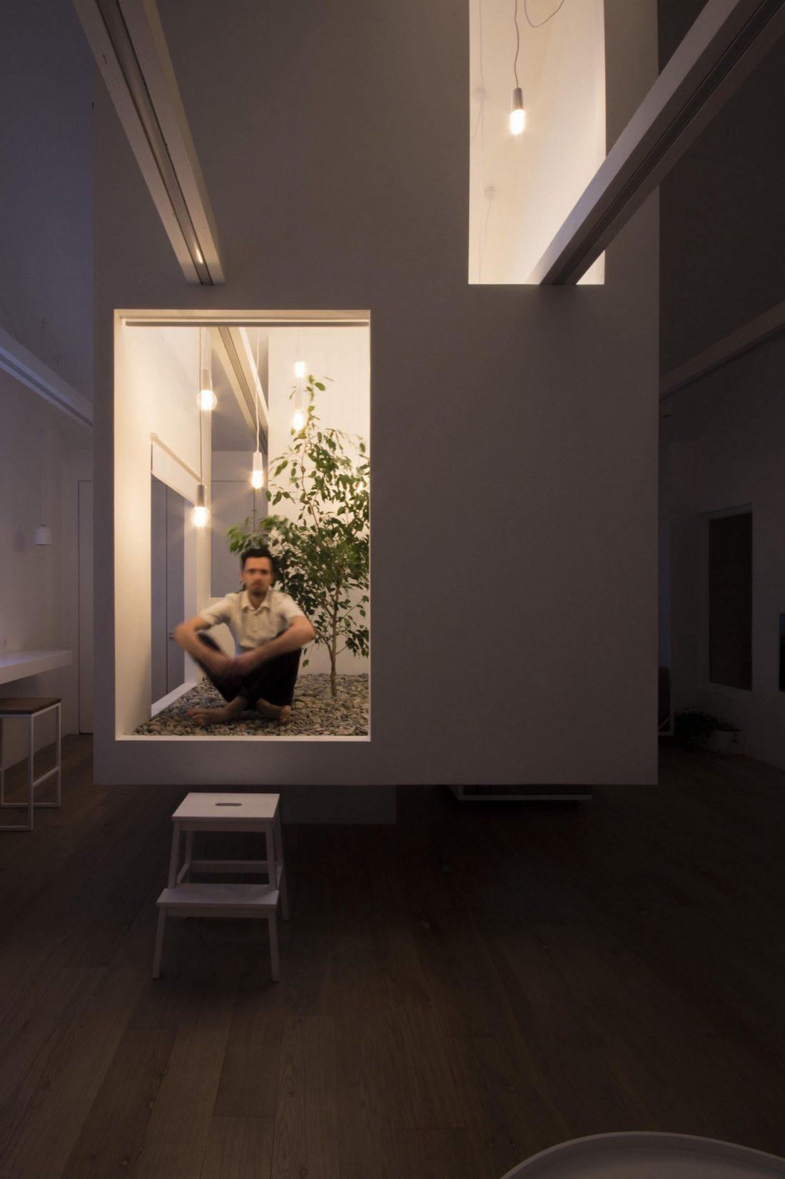 Проект мансардной квартиры от студии Ruetemple в Москве 10