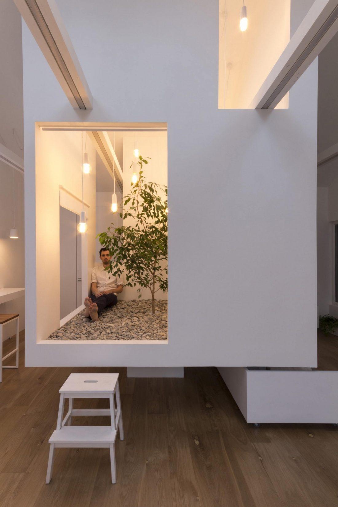 Проект мансардной квартиры от студии Ruetemple в Москве 14