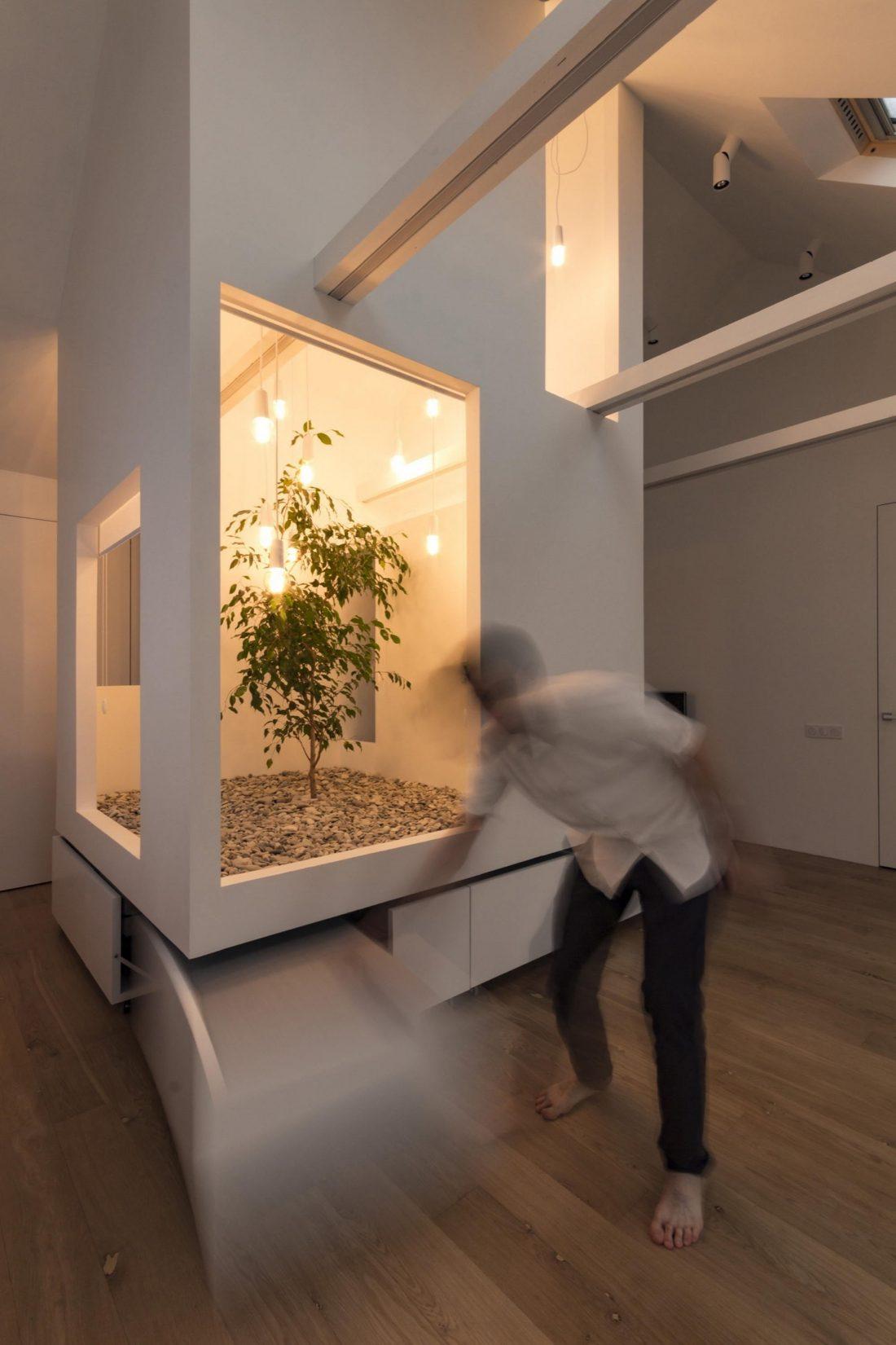 Проект мансардной квартиры от студии Ruetemple в Москве 15