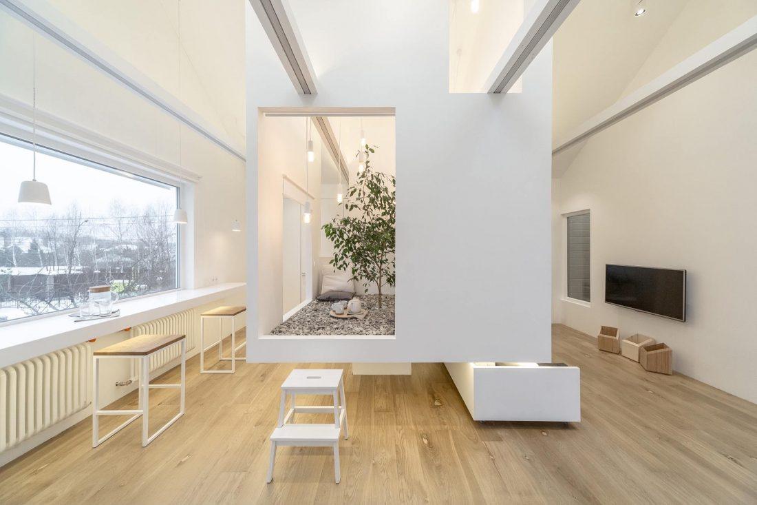 Проект мансардной квартиры от студии Ruetemple в Москве 16