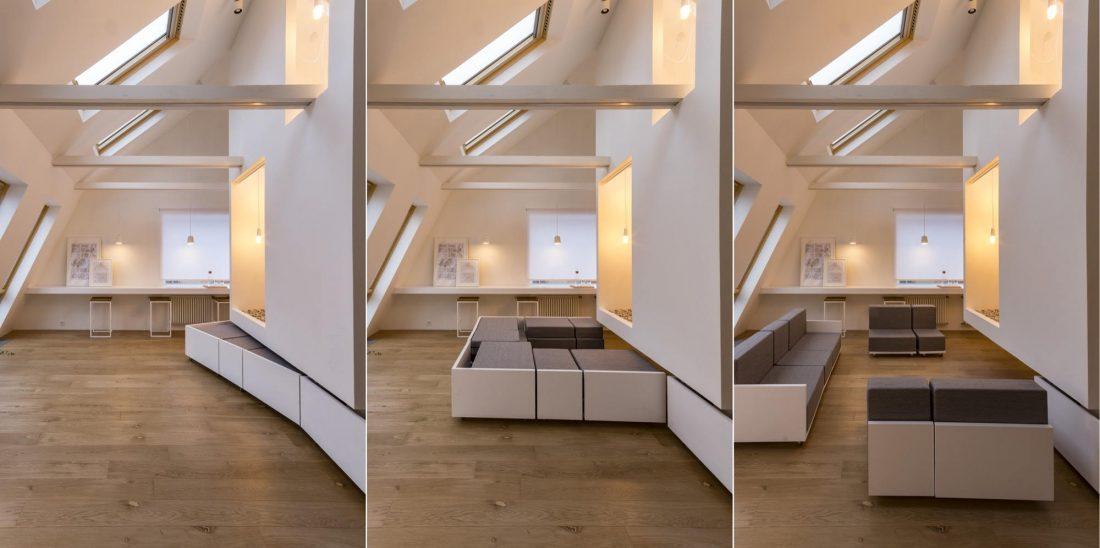 Проект мансардной квартиры от студии Ruetemple в Москве 18