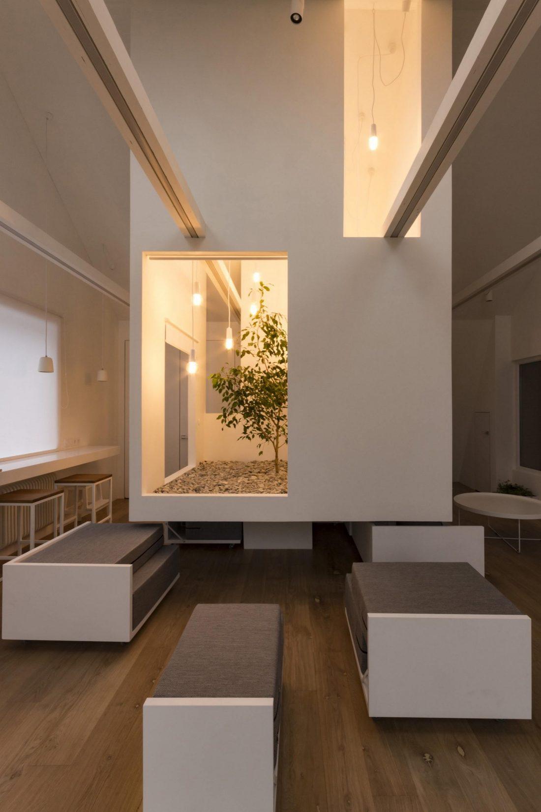 Проект мансардной квартиры от студии Ruetemple в Москве 19