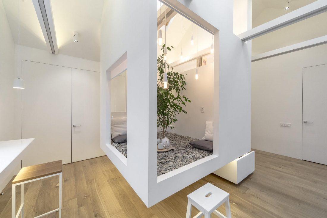 Проект мансардной квартиры от студии Ruetemple в Москве 2