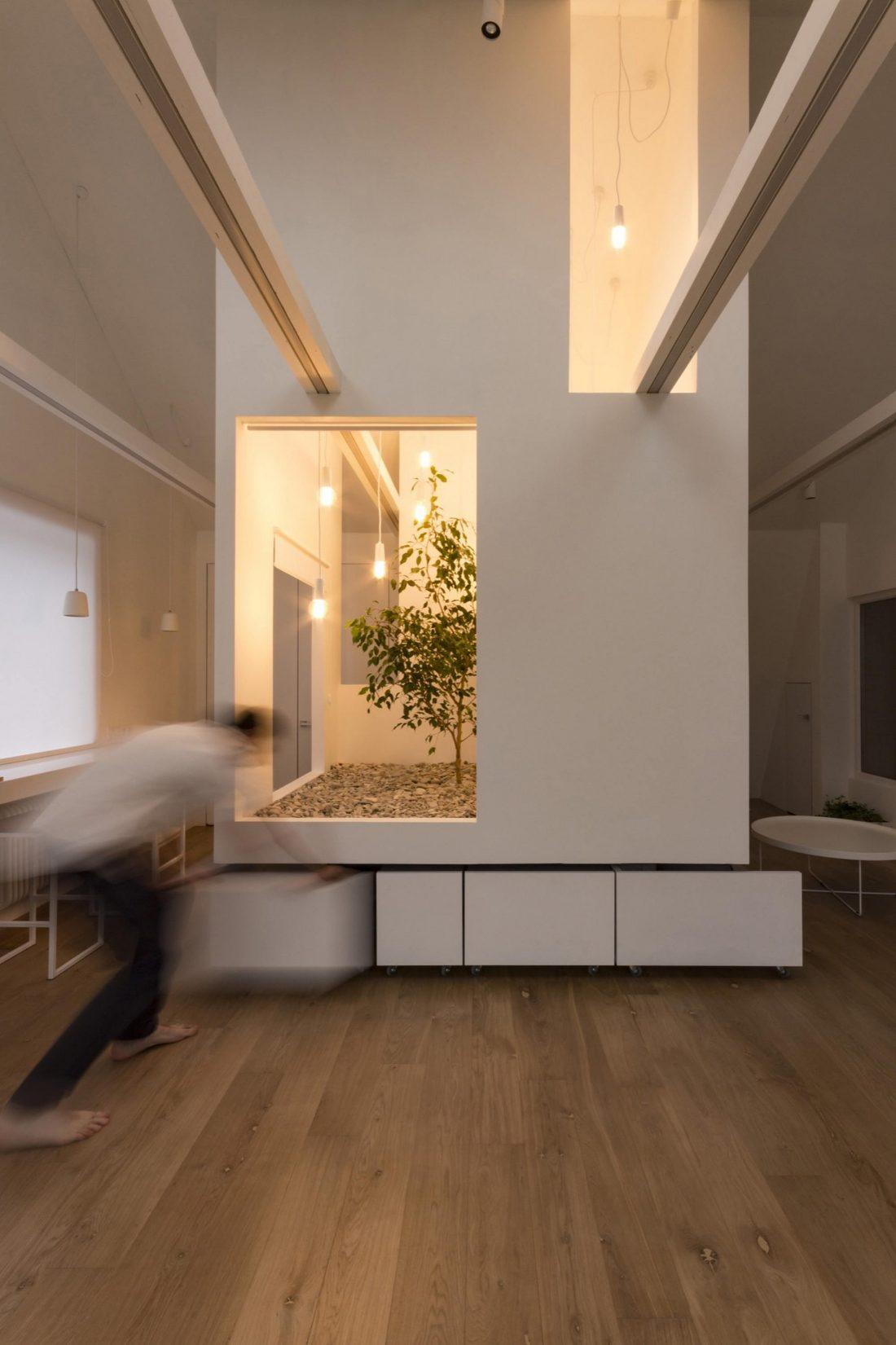 Проект мансардной квартиры от студии Ruetemple в Москве 20