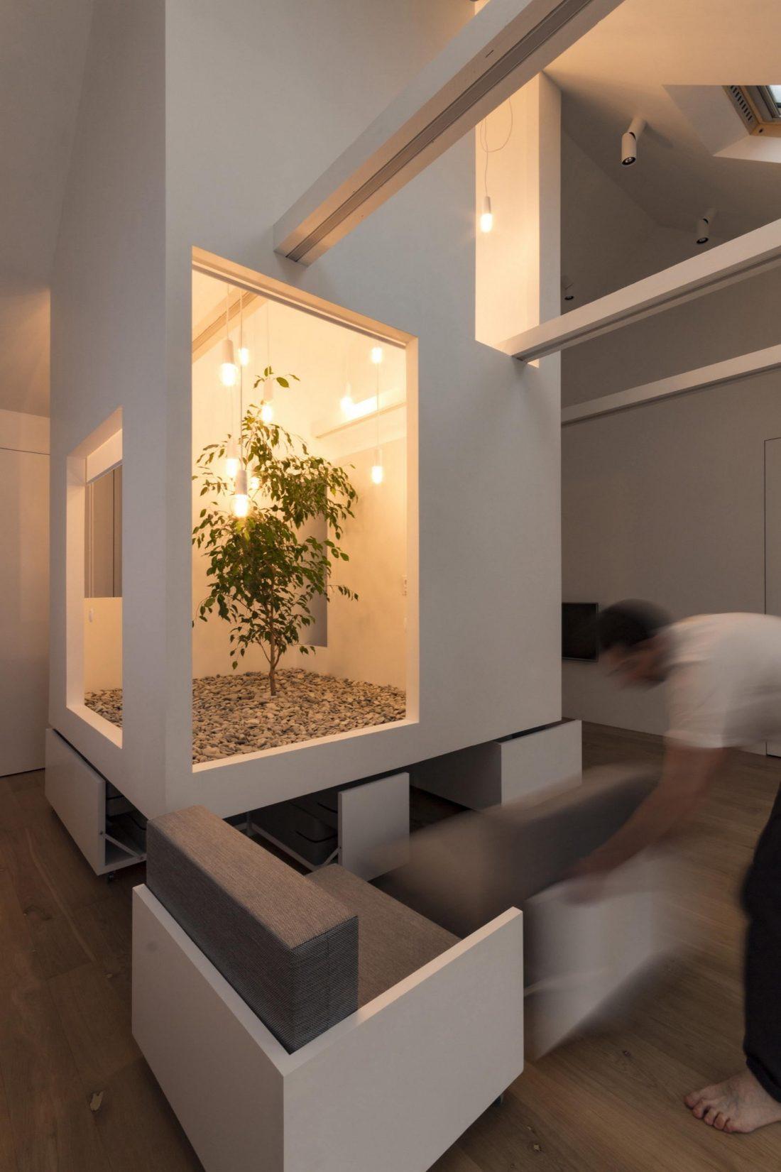 Проект мансардной квартиры от студии Ruetemple в Москве 21