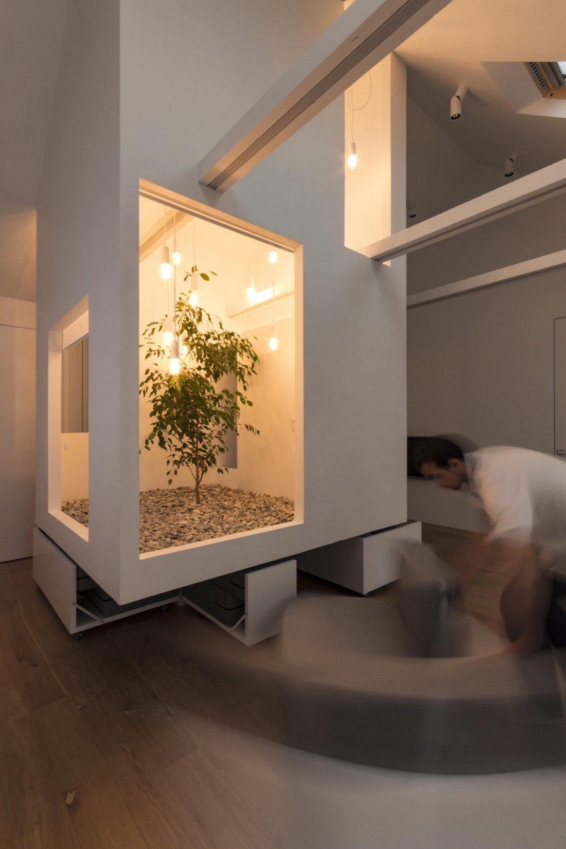 Проект мансардной квартиры от студии Ruetemple в Москве 22