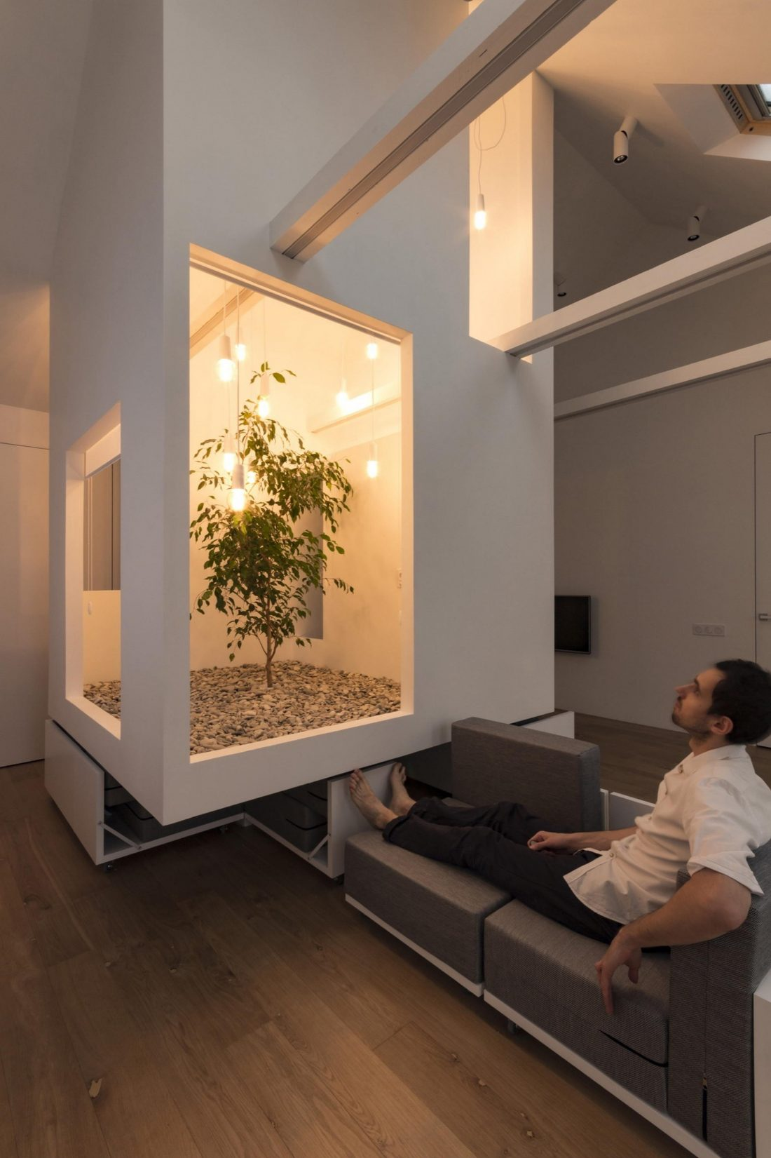 Проект мансардной квартиры от студии Ruetemple в Москве 25