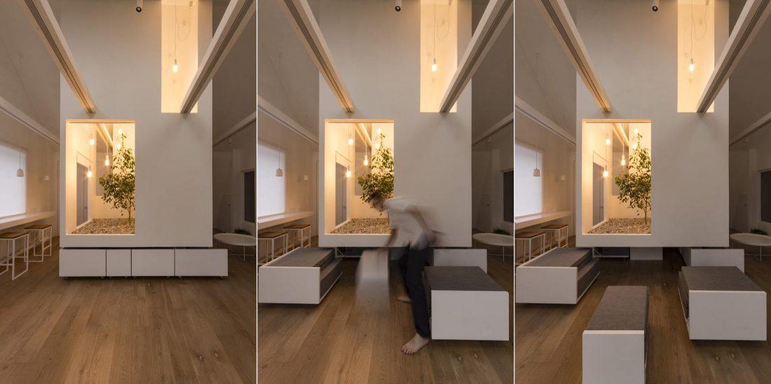 Проект мансардной квартиры от студии Ruetemple в Москве 26