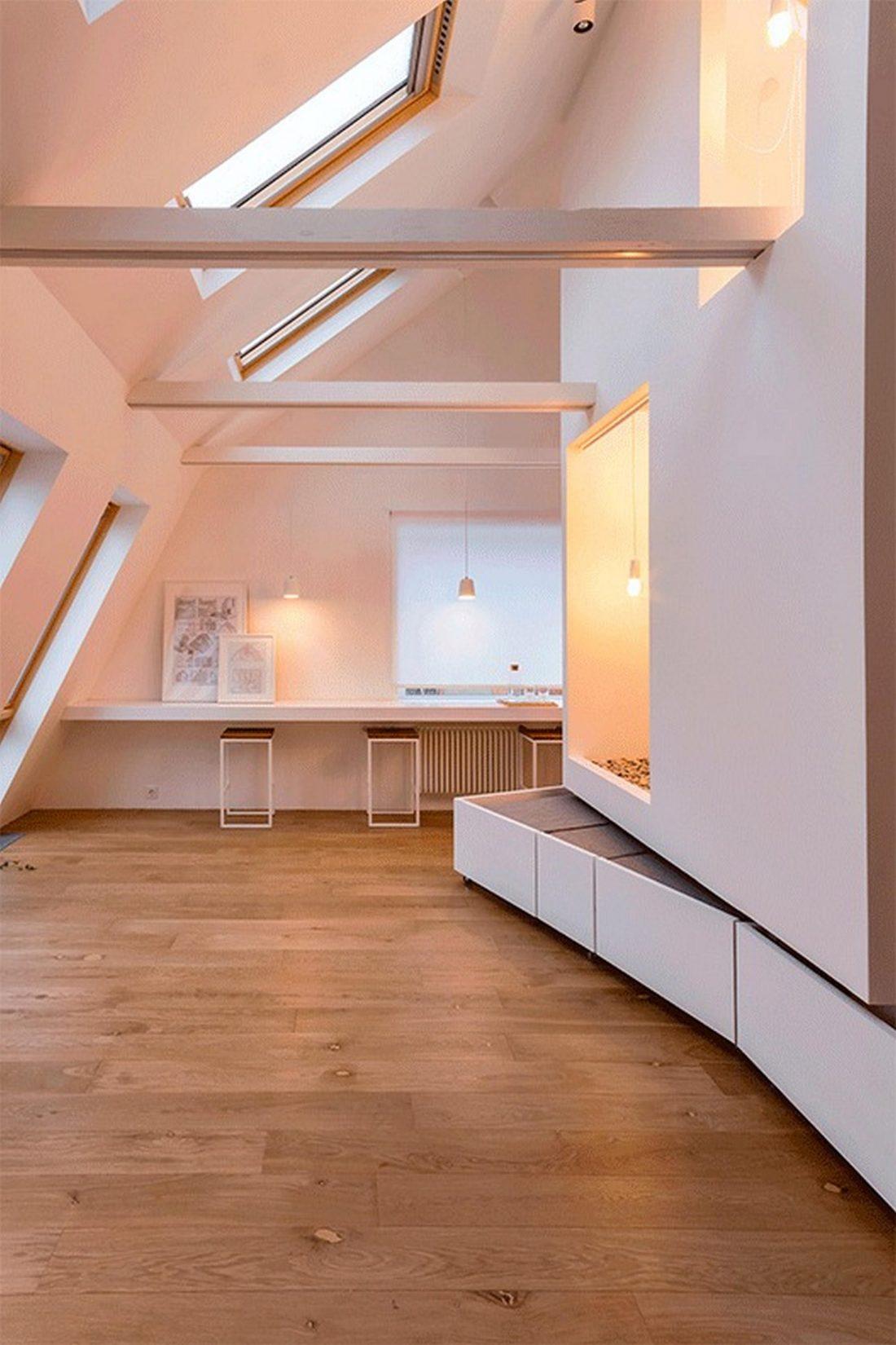 Проект мансардной квартиры от студии Ruetemple в Москве 27