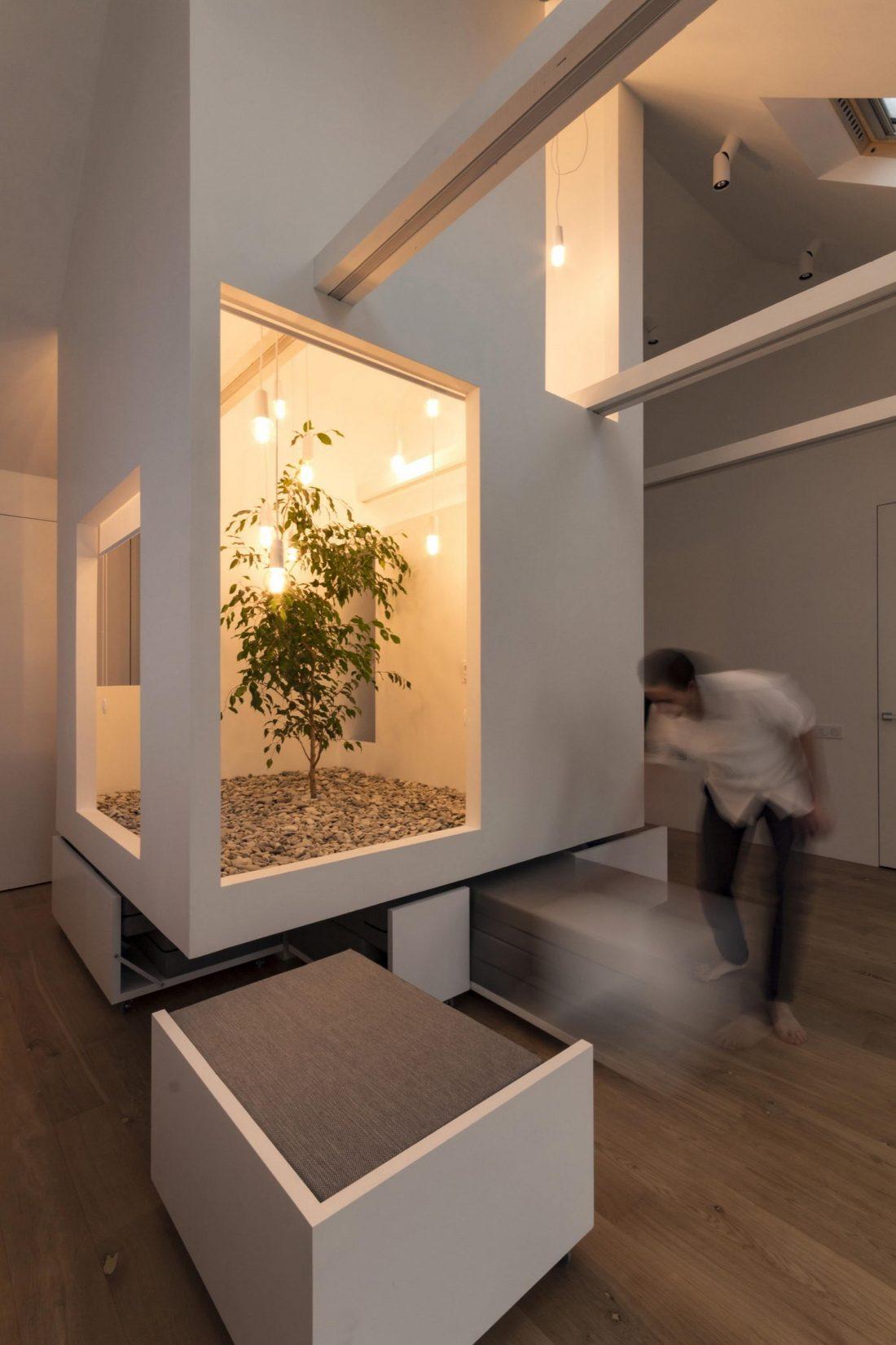 Проект мансардной квартиры от студии Ruetemple в Москве 28