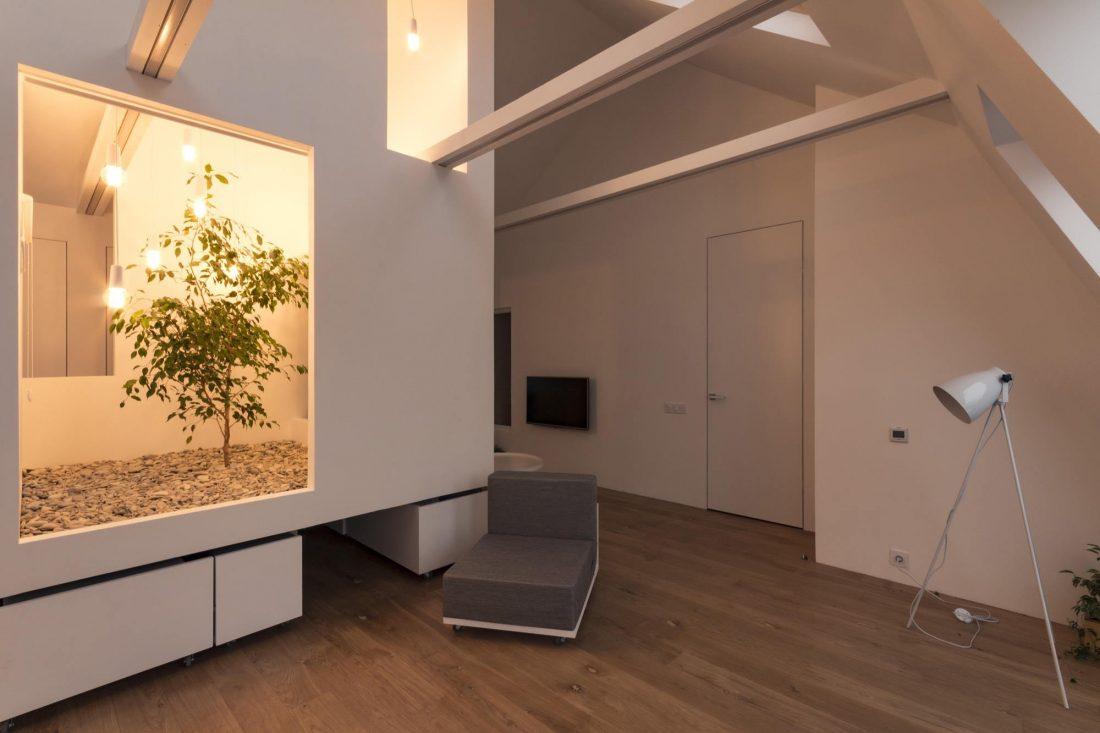Проект мансардной квартиры от студии Ruetemple в Москве 29
