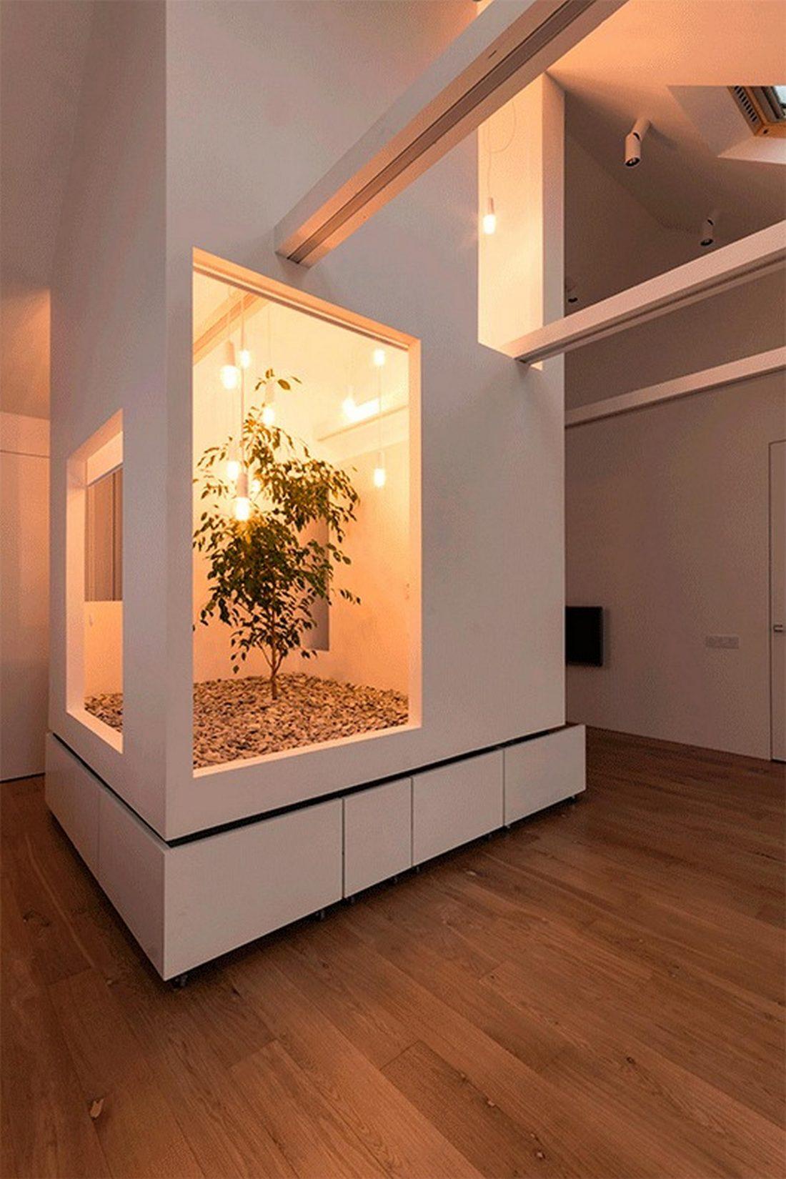 Проект мансардной квартиры от студии Ruetemple в Москве 30