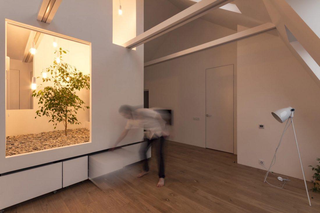 Проект мансардной квартиры от студии Ruetemple в Москве 31