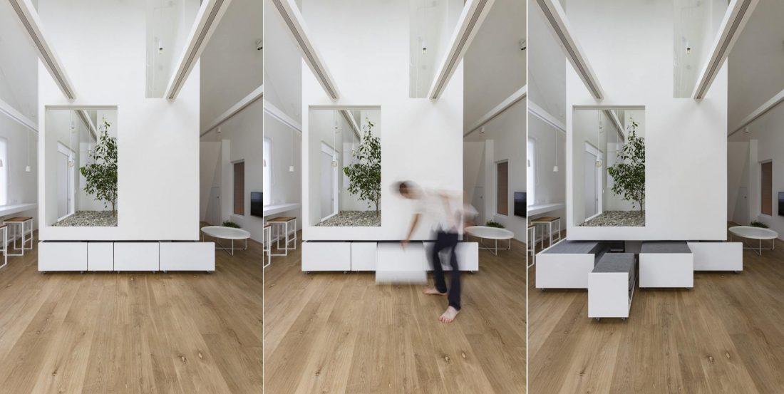 Проект мансардной квартиры от студии Ruetemple в Москве 32