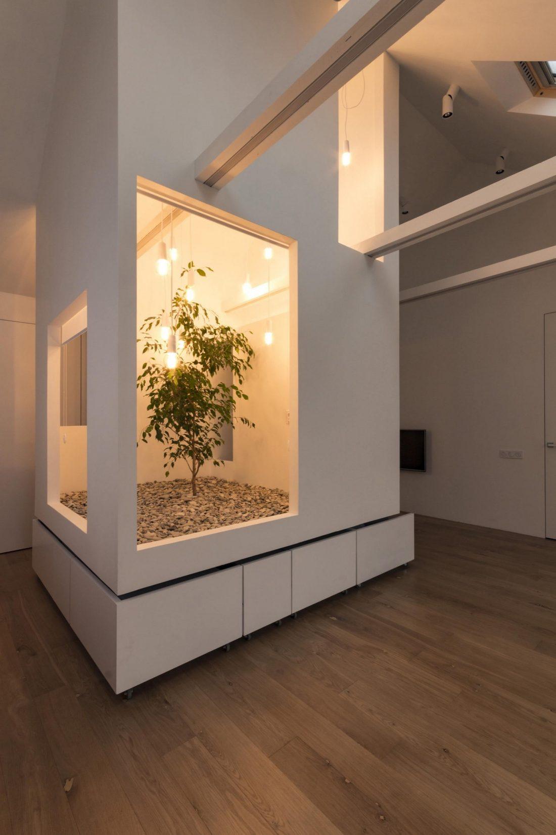 Проект мансардной квартиры от студии Ruetemple в Москве 33