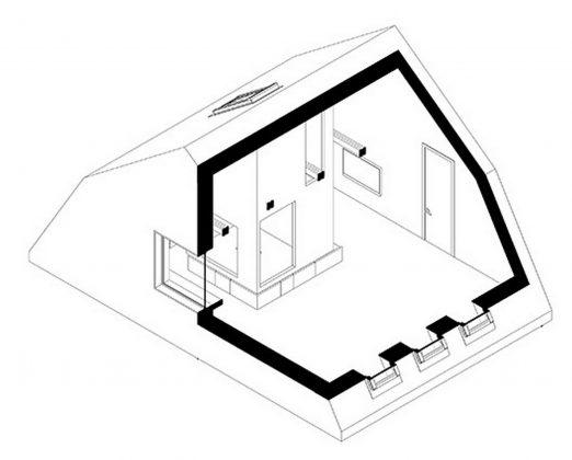 Проект мансардной квартиры от студии Ruetemple в Москве 34