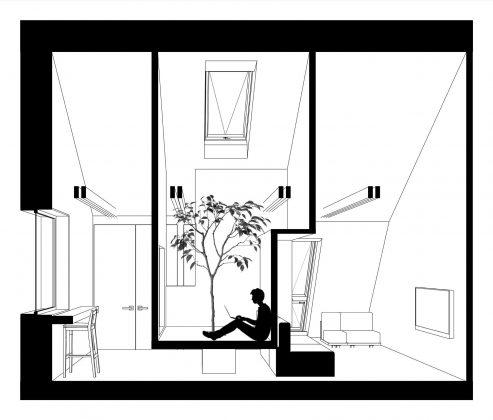 Проект мансардной квартиры от студии Ruetemple в Москве 36