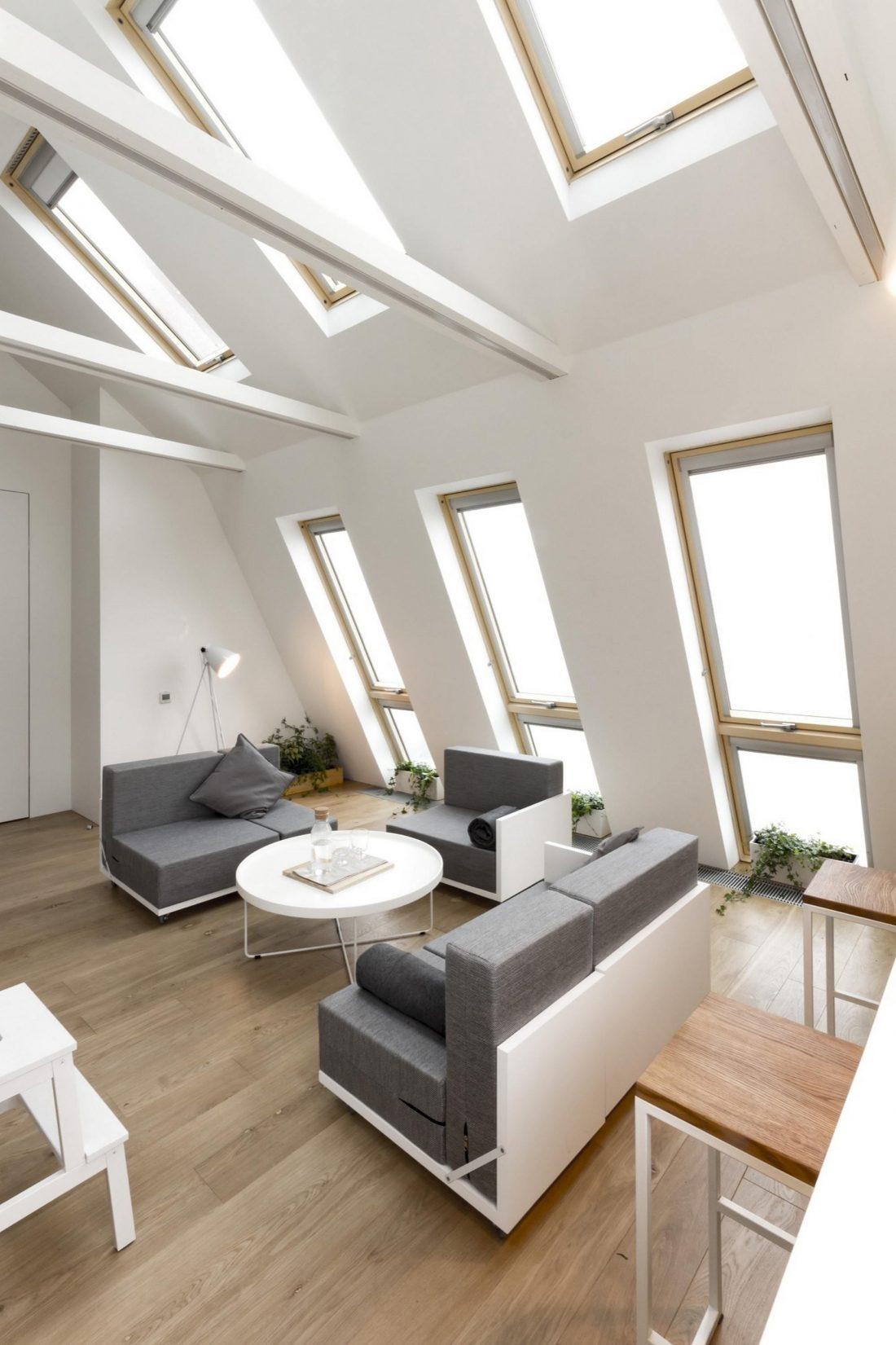 Проект мансардной квартиры от студии Ruetemple в Москве 4