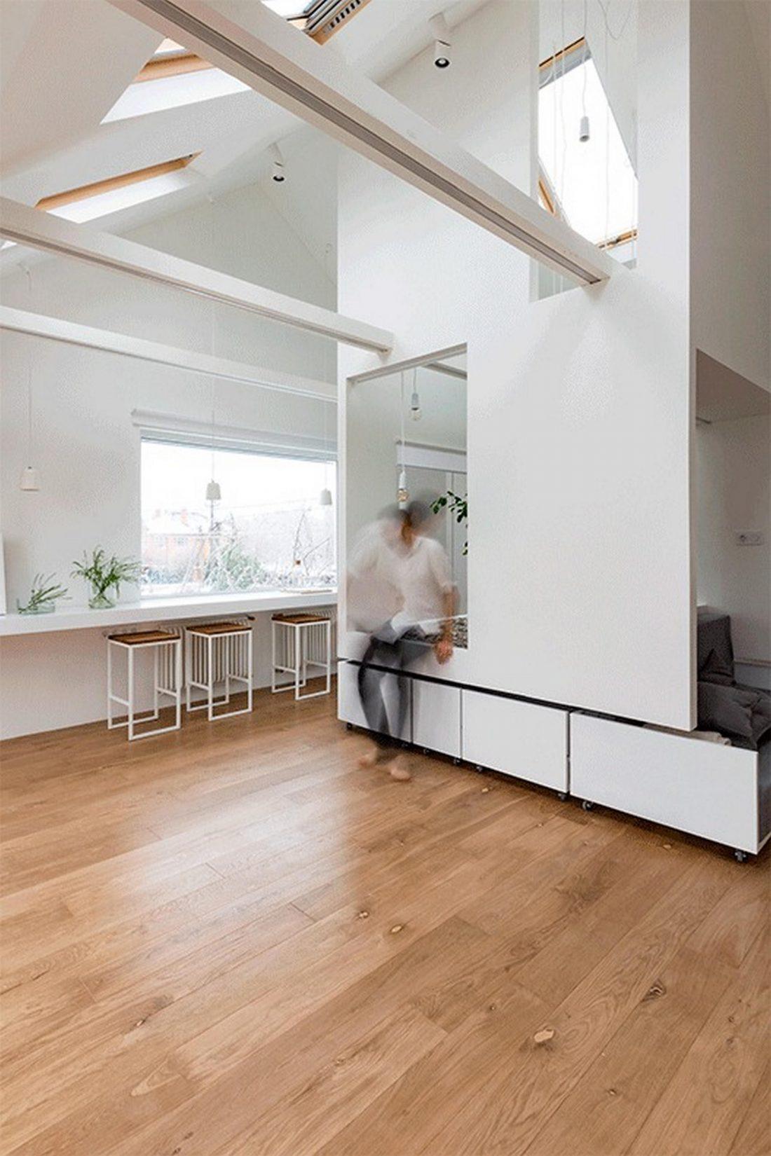 Проект мансардной квартиры от студии Ruetemple в Москве 5