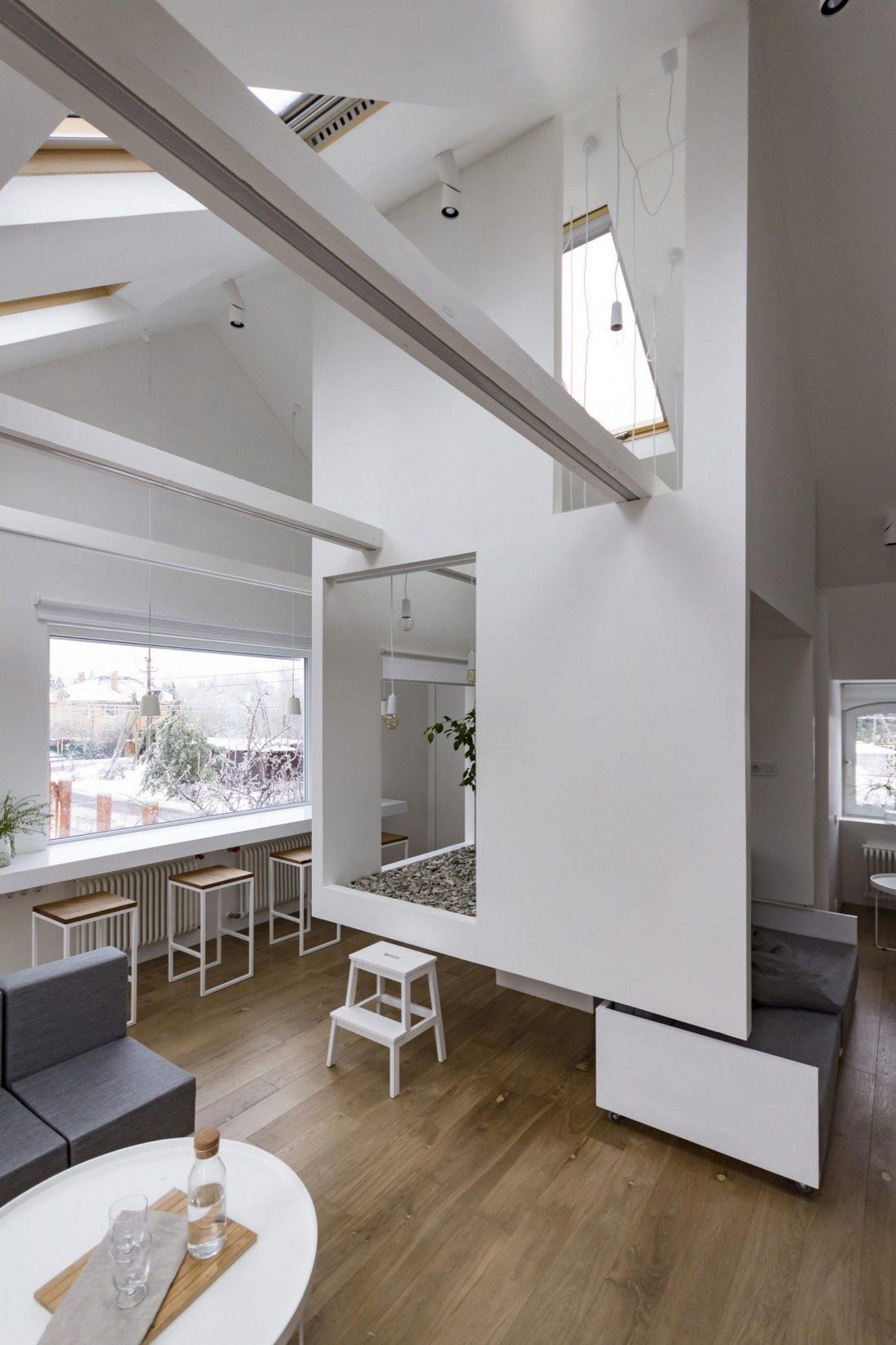 Проект мансардной квартиры от студии Ruetemple в Москве 6