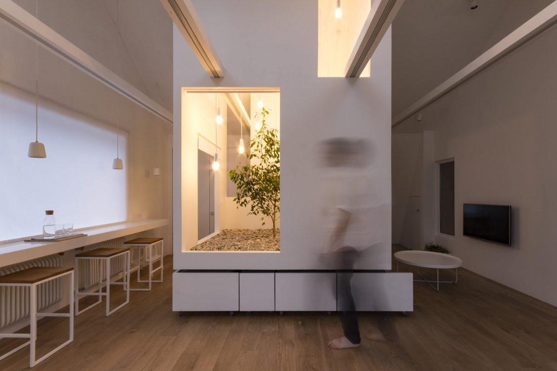Проект мансардной квартиры от студии Ruetemple в Москве 7