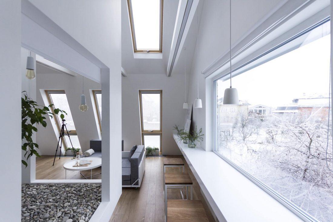 Проект мансардной квартиры от студии Ruetemple в Москве 8