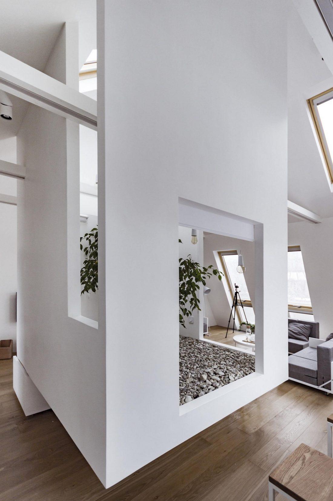 Проект мансардной квартиры от студии Ruetemple в Москве 9