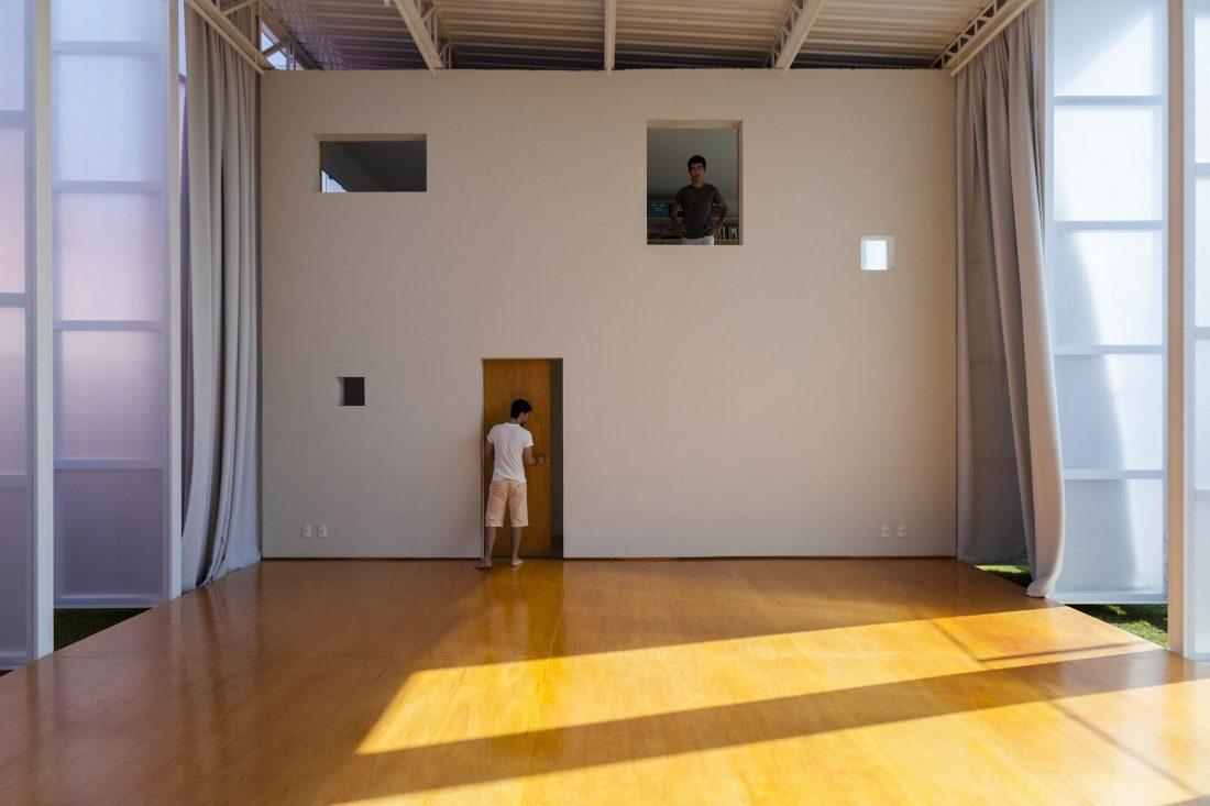 Проект театральной студии Galpao Sim по проекту Alan Chu 16
