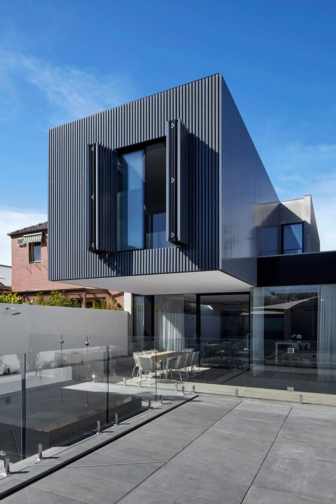 Современный дом из Викторианской резиденции проект студии Architecton 12