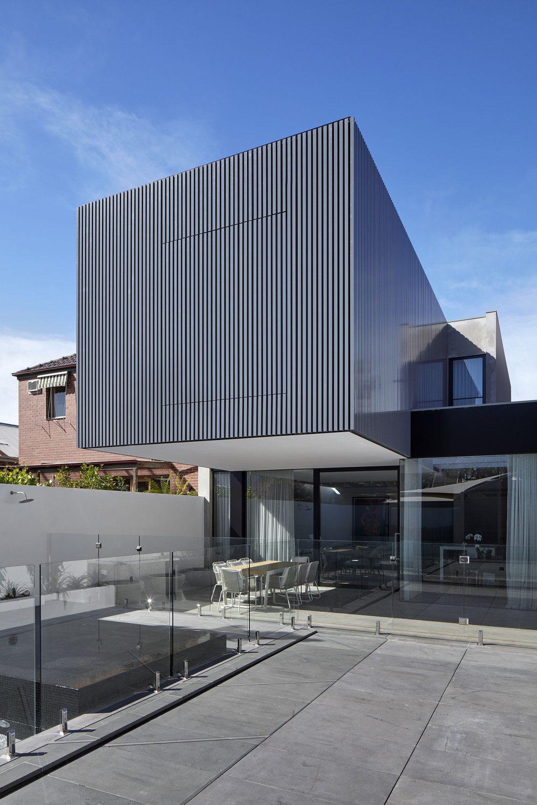Современный дом из Викторианской резиденции проект студии Architecton 13